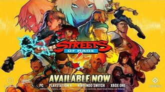 Streets of Rage 4 - Official Launch Trailer