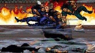 Streets Of Rage Remake V5 MOD Never Back Down Longplay