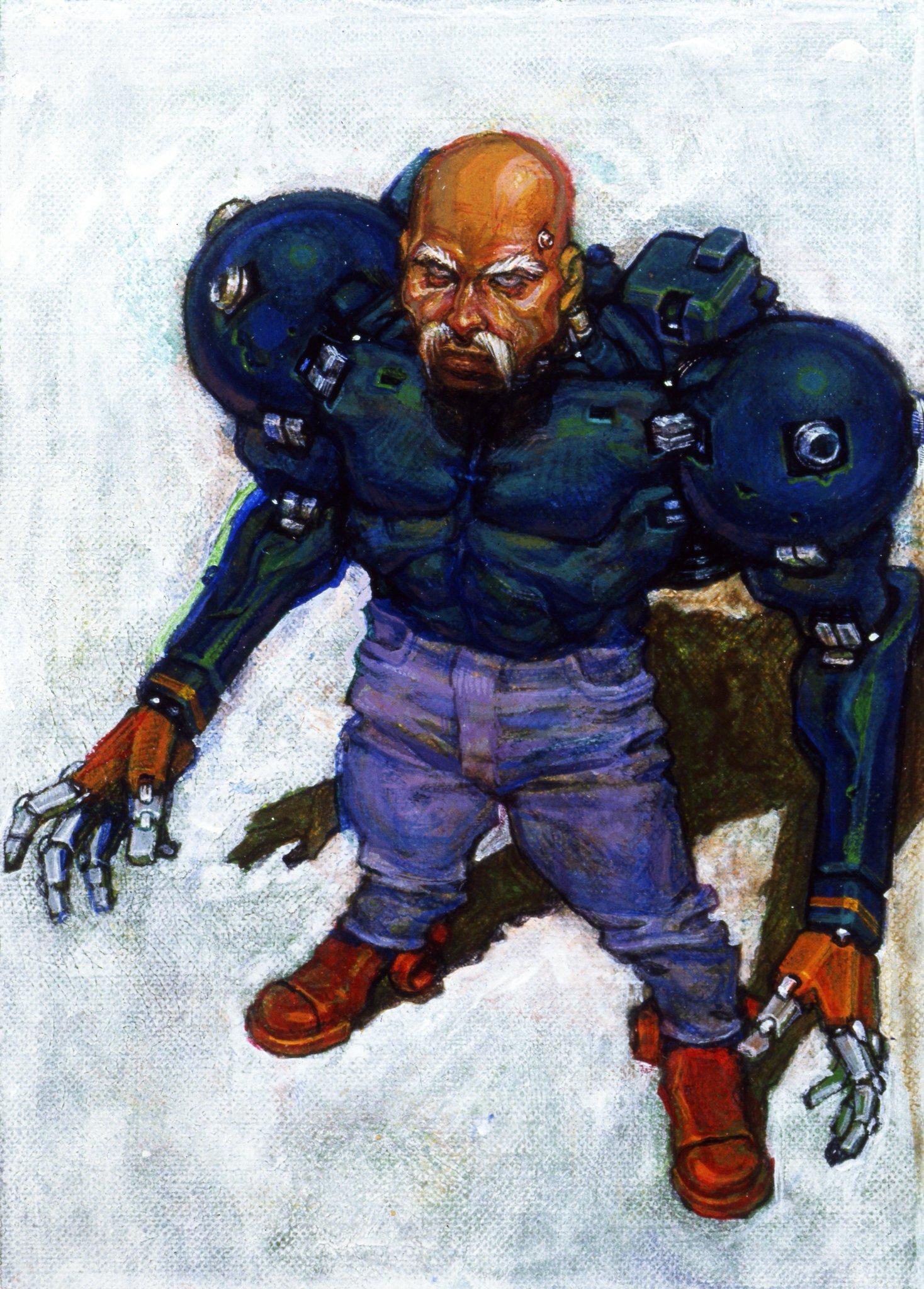 Genesis / 32X / SCD - Streets of Rage 3 - Zan - The ...  |Streets Of Rage 3 Zan