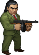 Mr. X Battle Pose SEGA Heroes
