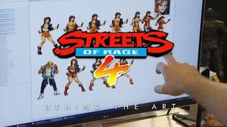 Streets of Rage 4 - Behind the Art
