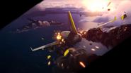 Y Plane Crashing Down