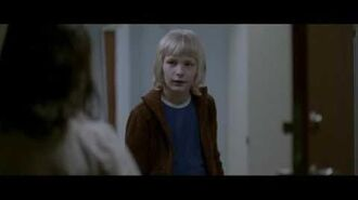 (Let the Right One In) (2008) Eli visits Oskar's apartment