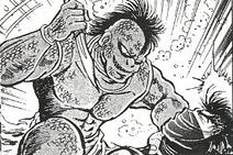 Manga kubira fight