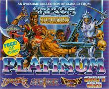 Platinum cover