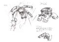 Str2 spider form concept