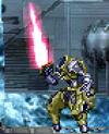 Superhuman space infantryman