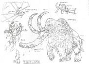 Str2 mammoth sketch