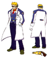 Str2 professor back weapon