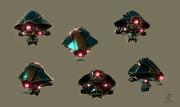 StrHD stealthflyer renders