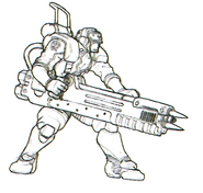 Str2 plasma cannon guard concept