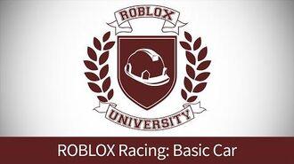 ROBLOX Racing 1 Build a Basic Car (ROBLOX U Tutorial)