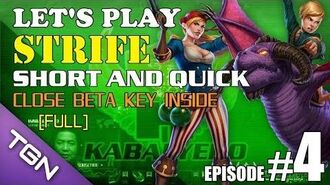 Let's Play Strife E5-Full Short And Quick Video - Close Beta Key Inside