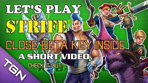 Let's Play Strife - Close Beta Key Inside (Claimed) - A Short Video