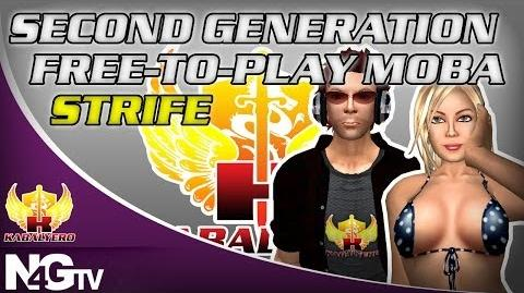 Second Generation Free-To-Play MOBA - Strife