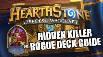 """Rogue """"Stealth"""" Deck Guide - Hearthstone"""