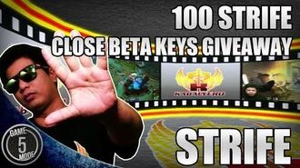 Strife * 100 Close Beta Keys Giveaway