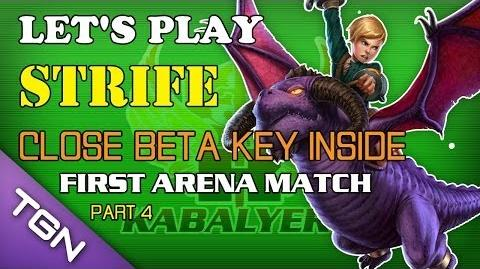 Let's Play Strife - Close Beta Key Inside (Claimed) - First Arena Match (Part 4)