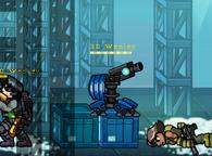 Shotgun Turret in game