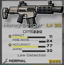 Normal Honey Badger