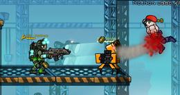 Rocket Sentry in game