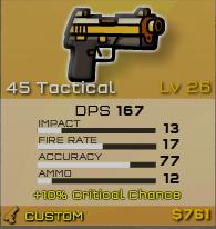45 tac