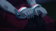 Strike The Blood S1 episode 15 Octavia handcuffed