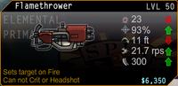SFH2 Flamethrower