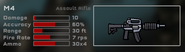 M4 Game Stats