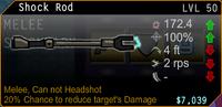 SFH2 Shock Rod