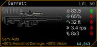 SFH2 Barrett