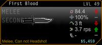 SFH2 First Blood