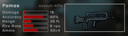 Famas Game Stats