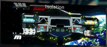 Isolation map icon