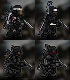 Globex soldiers