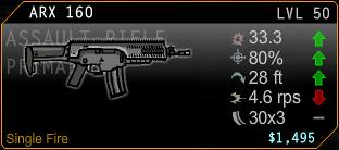 ARX 160 Assault Rifle