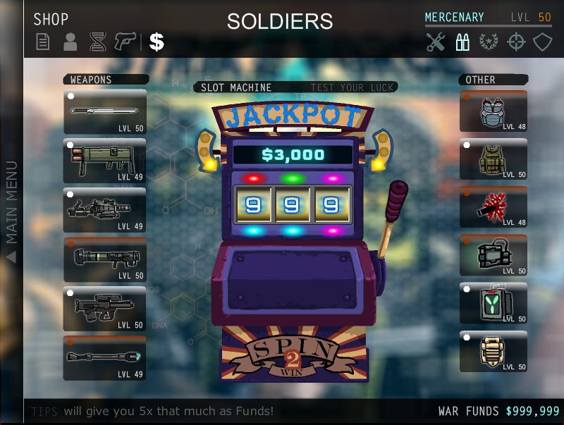Strike force heroes 2 hacked slot machine street craps rules