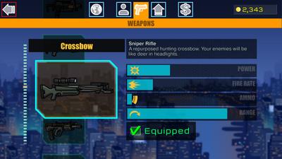 15 Crossbow