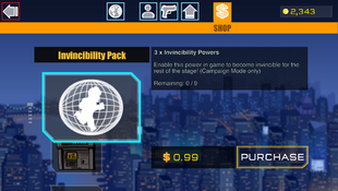 1 Invincibility Pack