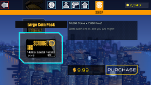 6 Large Coin Pack
