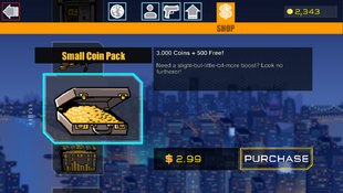 4 Small Coin Pack