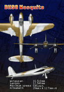 DH-98 Mosquito (Arcade Attract)