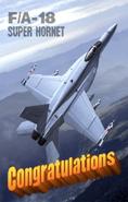 FA-18 Super Hornet Ending Art