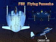 F5U Flying Pancake (Strikers 1945 Plus Attract)