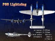 P-38 Lightning (Console Attract 2)