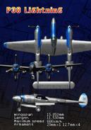 P-38 Lightning (Arcade Attract 2)
