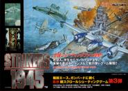 Strikers 1945 Arcade Flyer