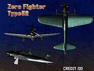 Zero Fighter Type 52 (Attract)