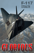 F-117 Stealth Ending Art