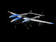 P-38 Lightning (Fighters Index Model)